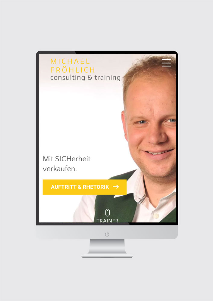 Michael Fröhlich – consulting & training