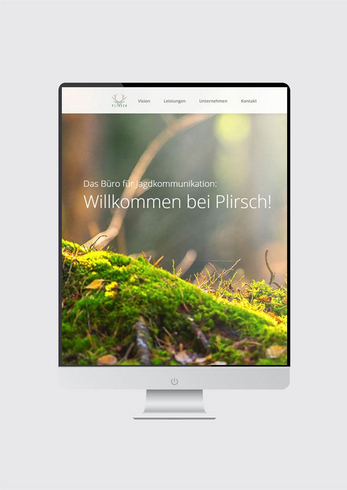 Plirsch Jagdkommunikation